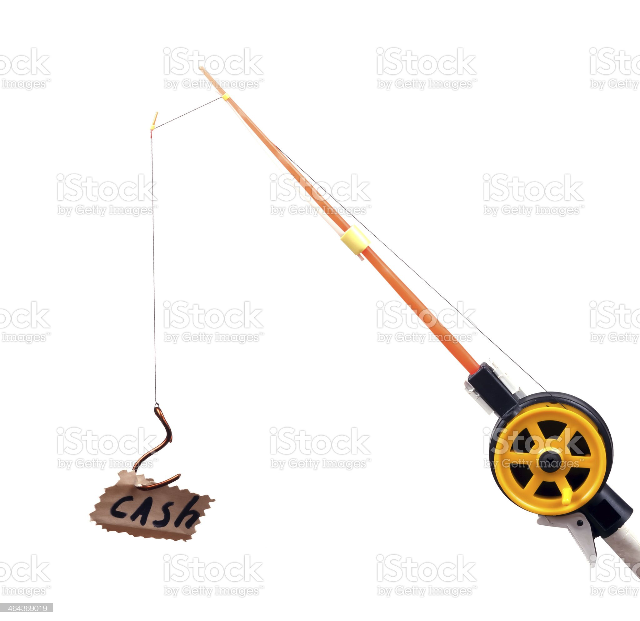 fishing rod royalty-free stock photo
