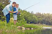 Fishing runs in the family