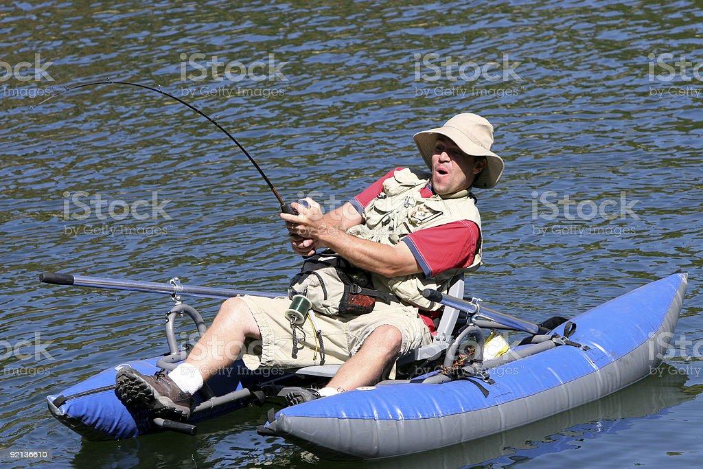 Fishing Series royalty-free stock photo
