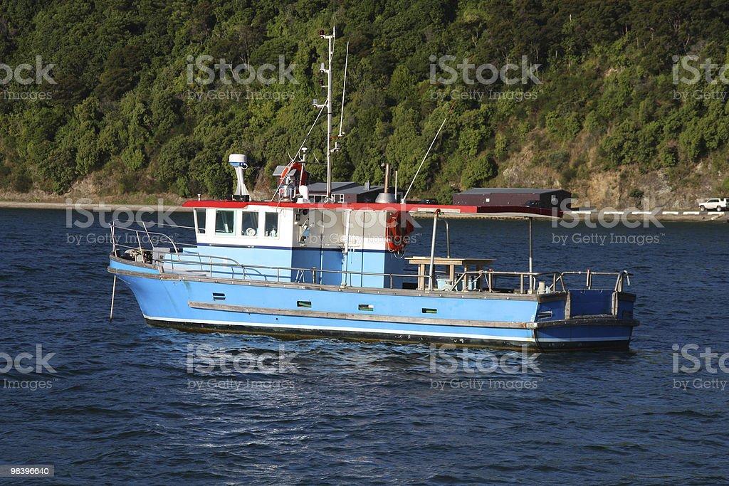 Fishing ship royalty-free stock photo