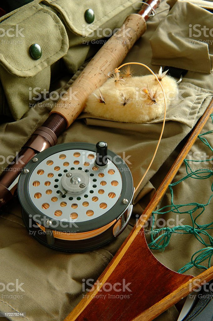 Fishing Stuff royalty-free stock photo