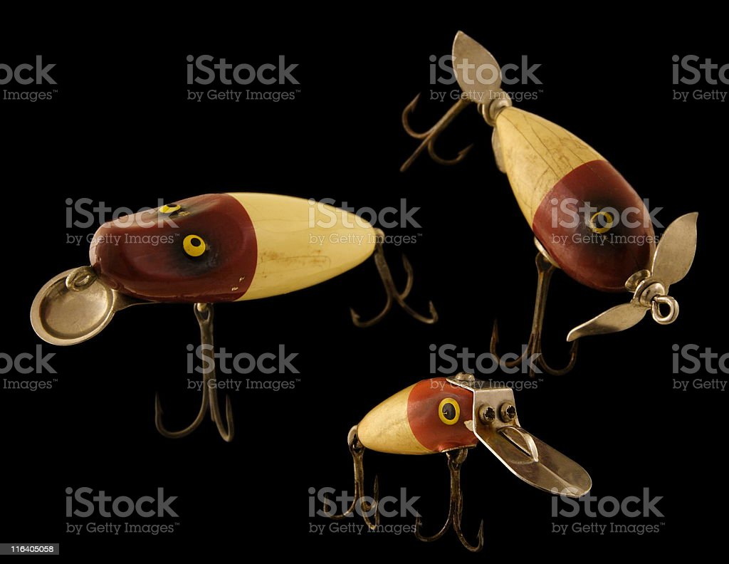 Fishing Tackle Bait Hooks royalty-free stock photo