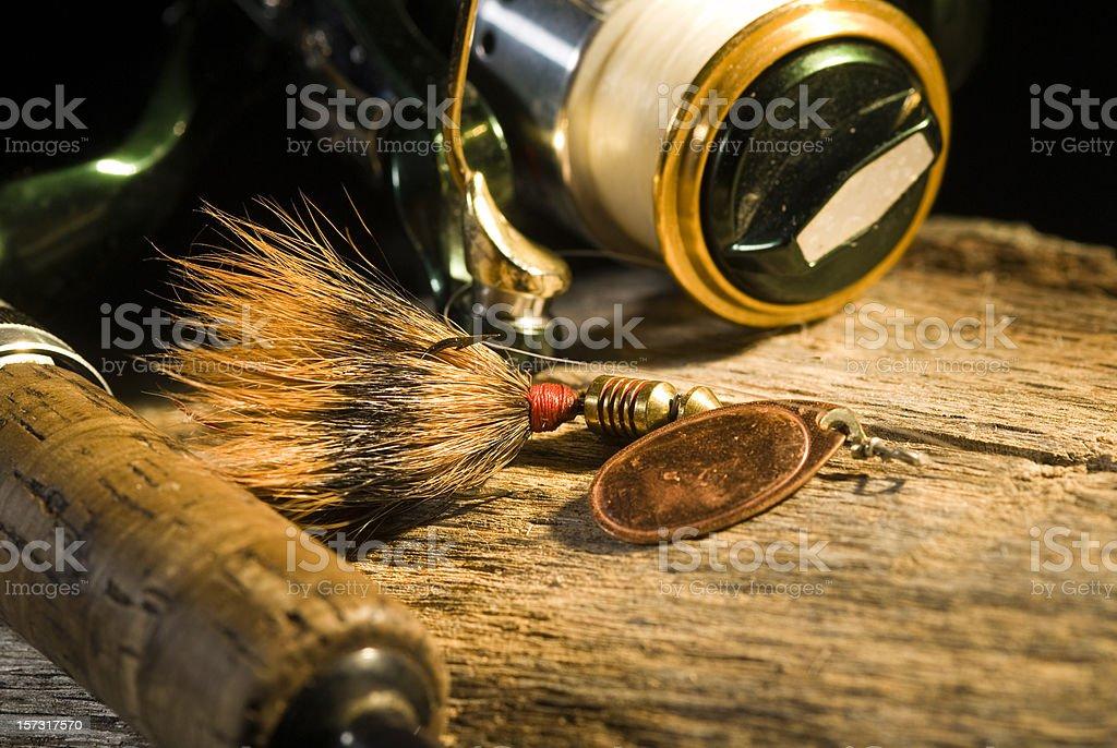 Fishing Tackle royalty-free stock photo