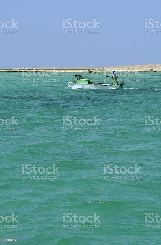 Fishing Trip royalty-free stock photo