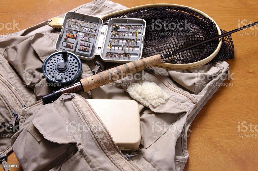 Fishing Vest royalty-free stock photo