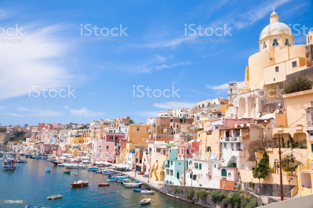 Fishing Village, Italy stock photo