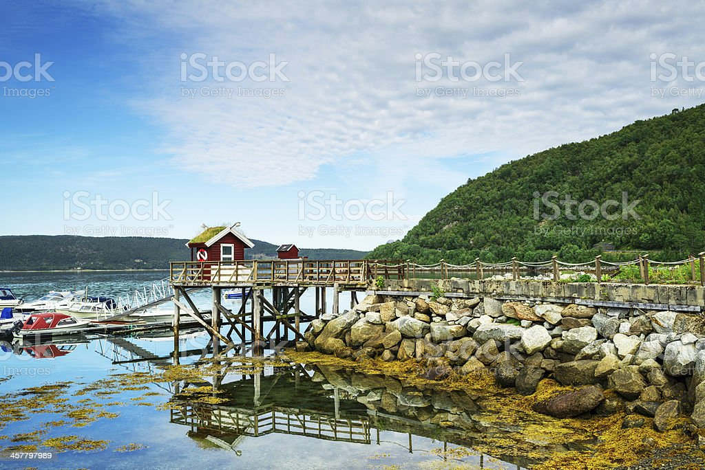 Fishing Village royalty-free stock photo