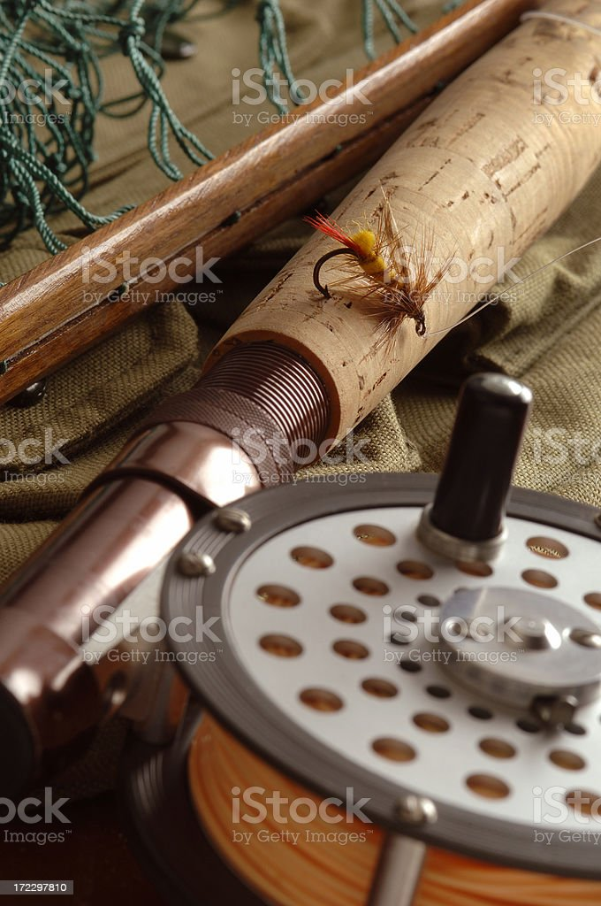 Fishing's Good! royalty-free stock photo