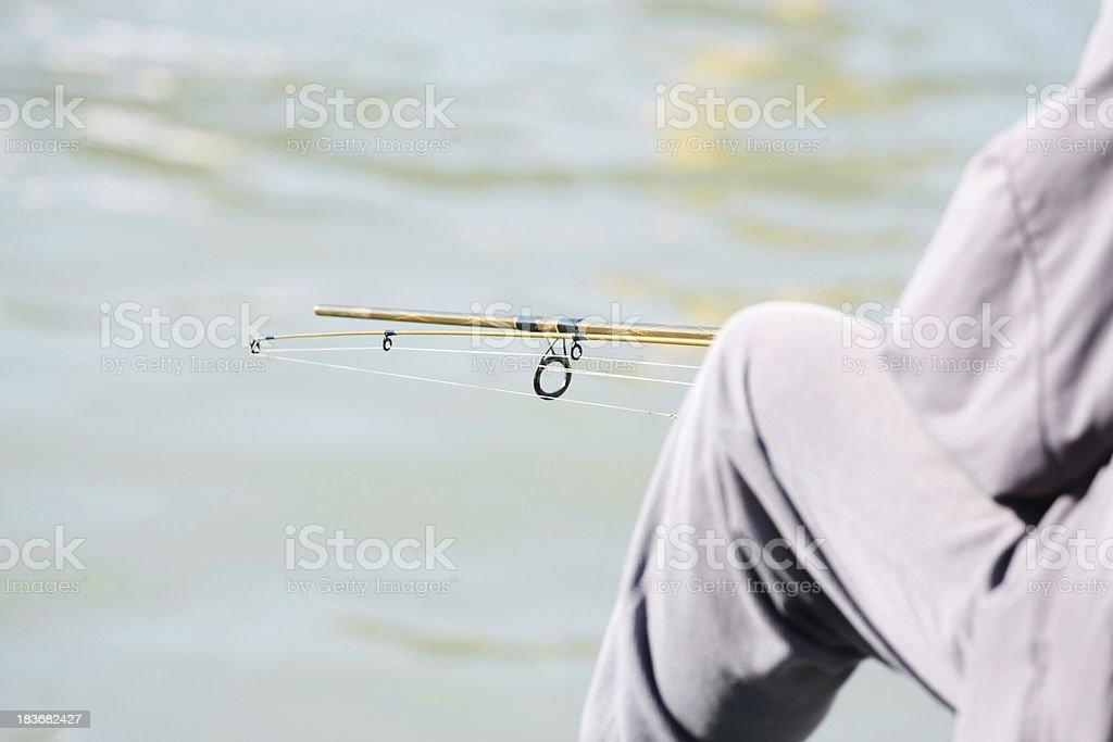 Fishman royalty-free stock photo