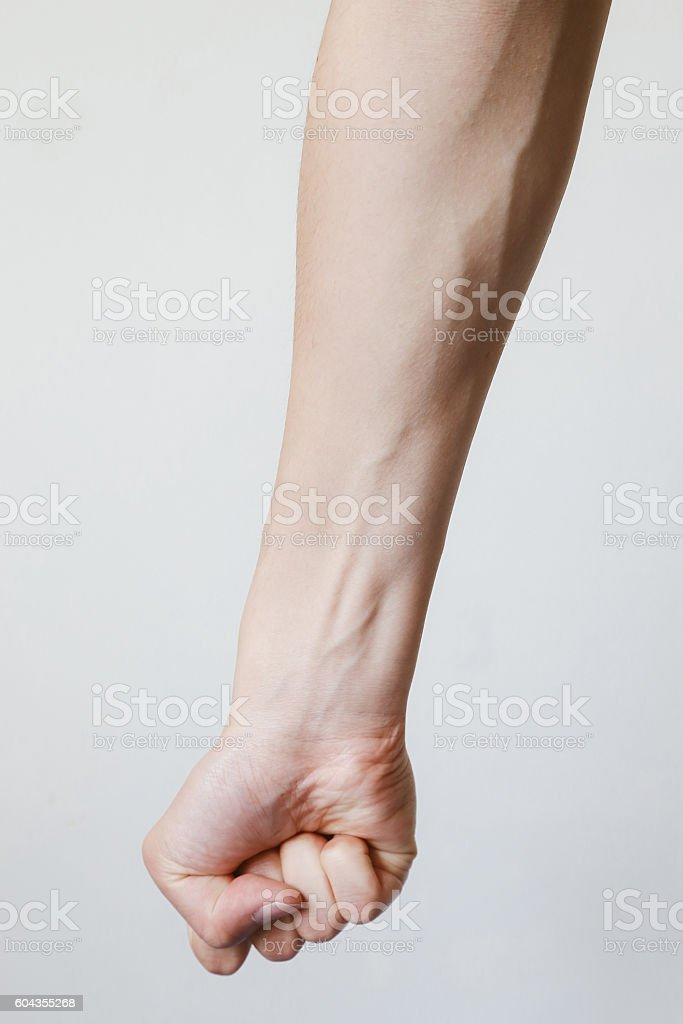 Fist and Forearm stock photo