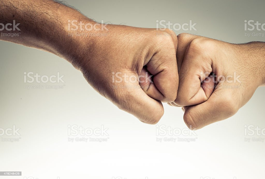Fist Bump stock photo