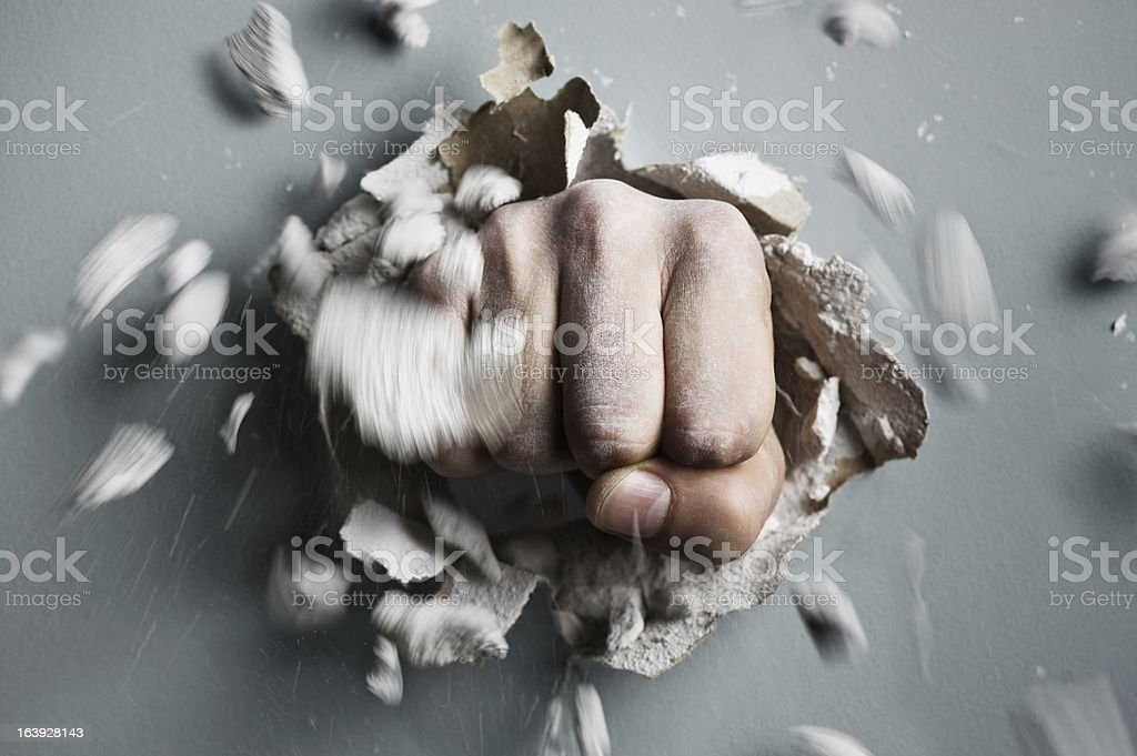 fist stock photo