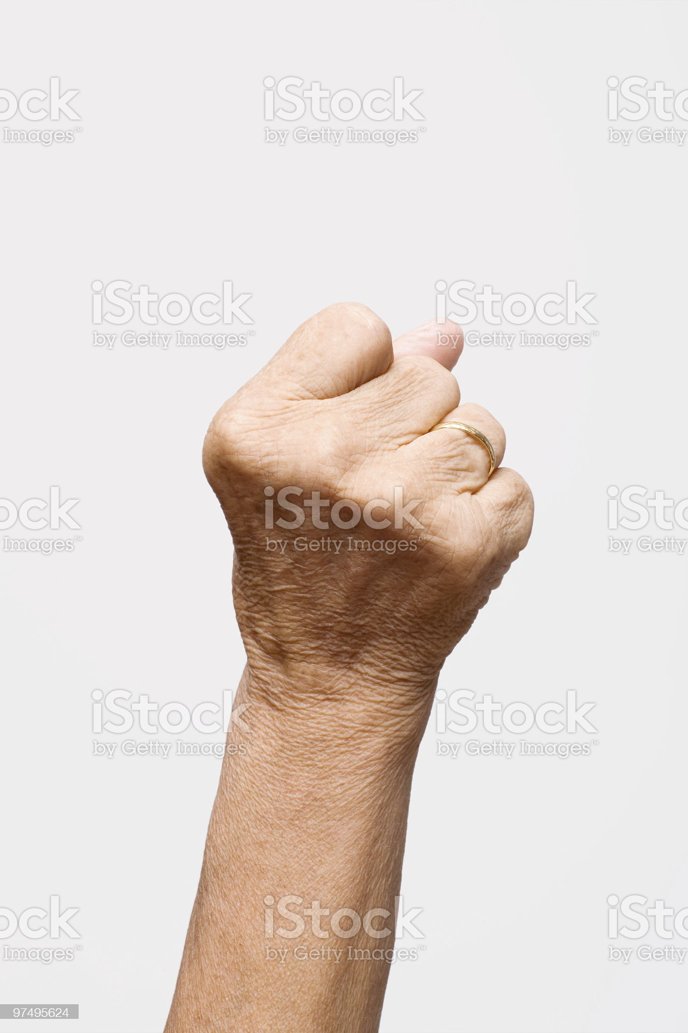 Fist royalty-free stock photo
