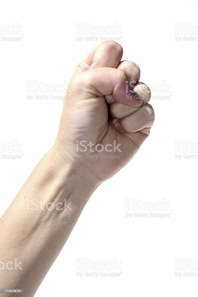 fist punch royalty-free stock photo