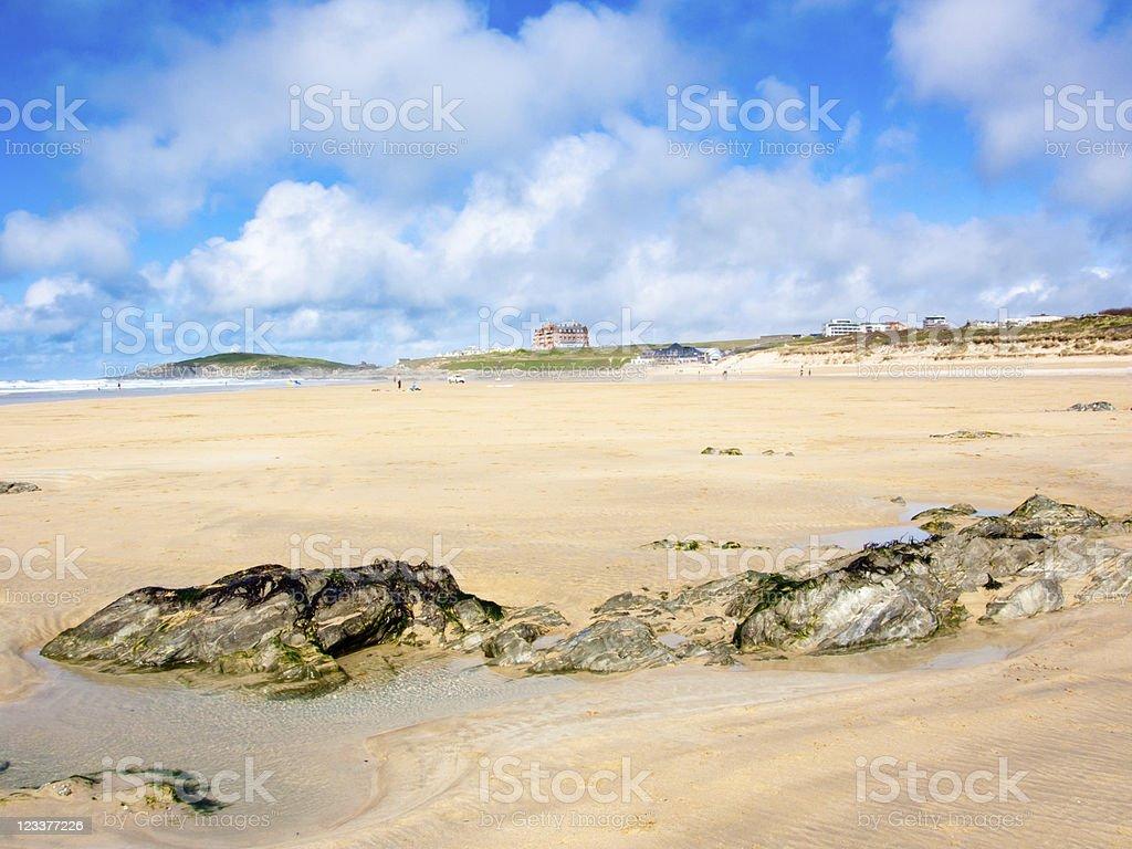 Fistral Beach photo libre de droits
