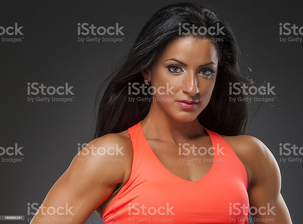 Fit and Beauty royalty-free stock photo