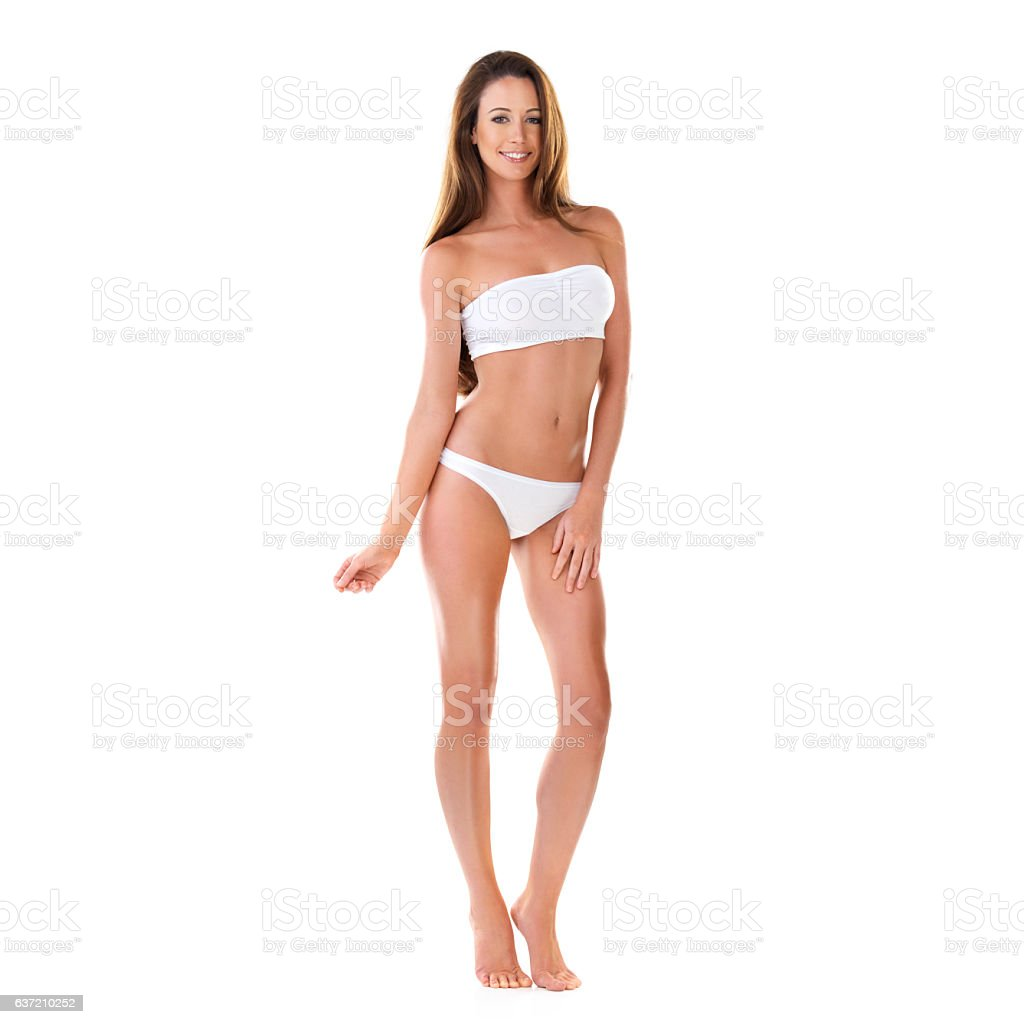 Fit and fashionable for summer stock photo