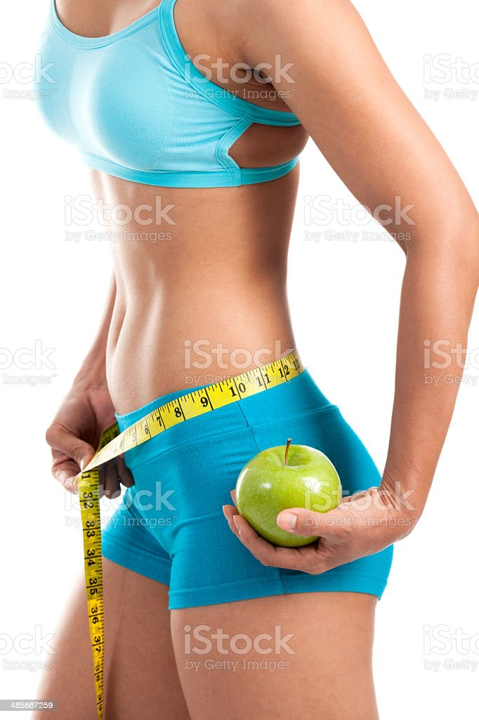 Fit And Trim stock photo
