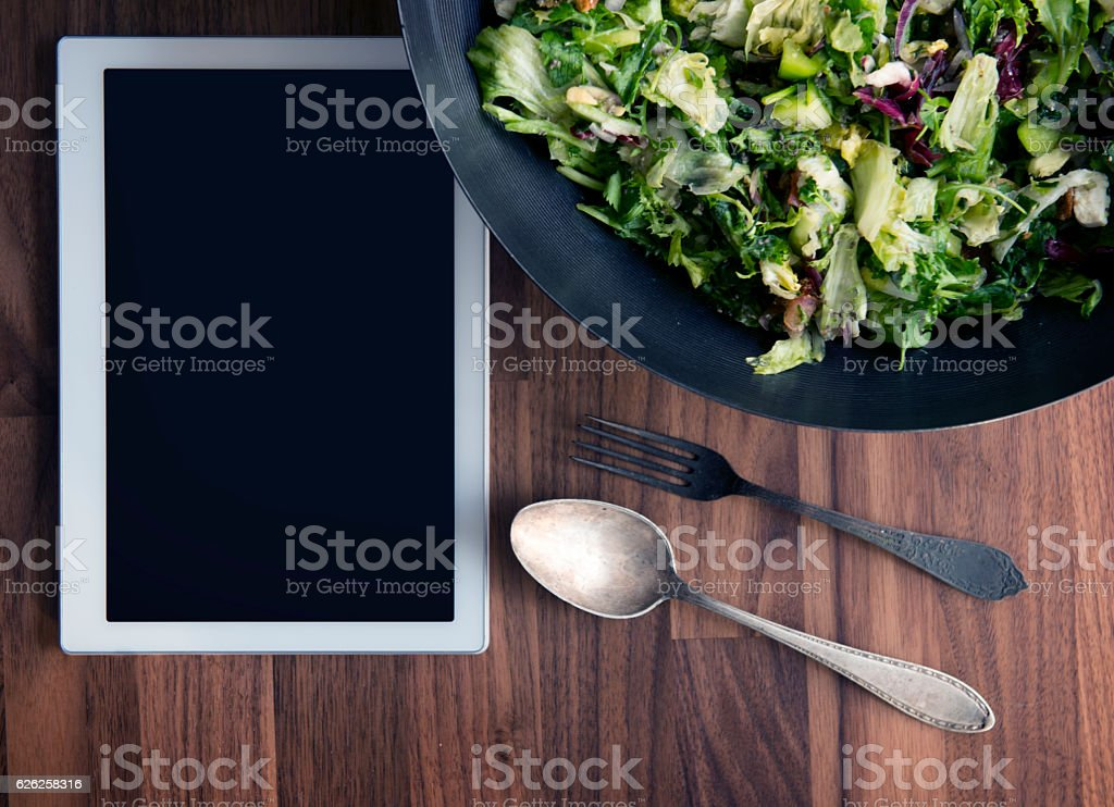 Fit book stock photo