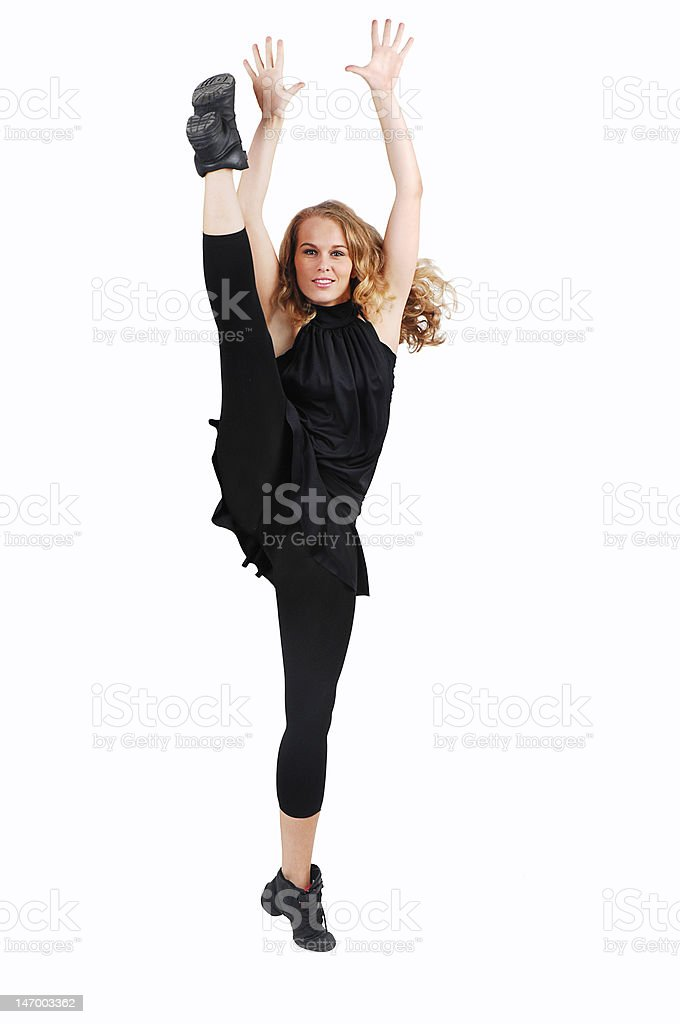 fit healthy woman exercising royalty-free stock photo