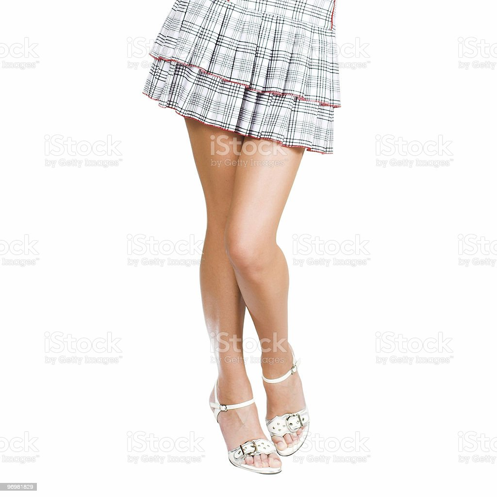 fit lady legs royalty-free stock photo