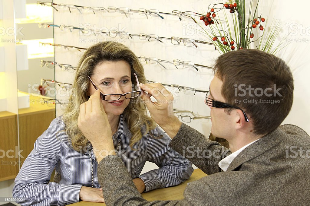 fit new eyewear royalty-free stock photo