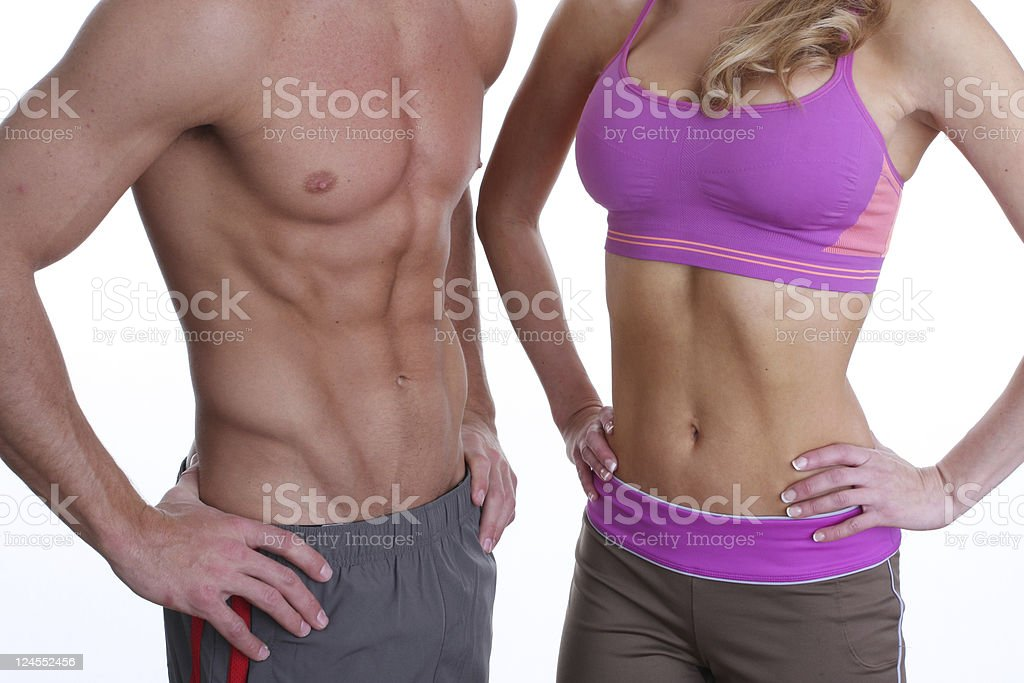 fit torso royalty-free stock photo