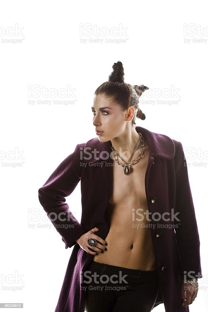 Fit with Attitude royalty-free stock photo
