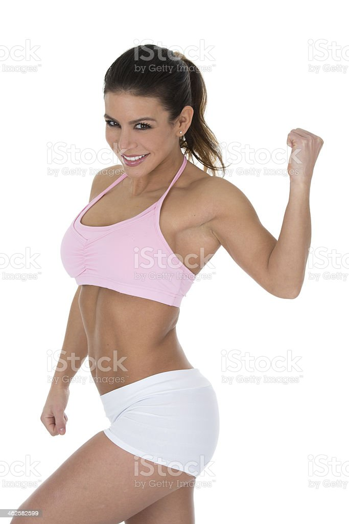 fit woman royalty-free stock photo