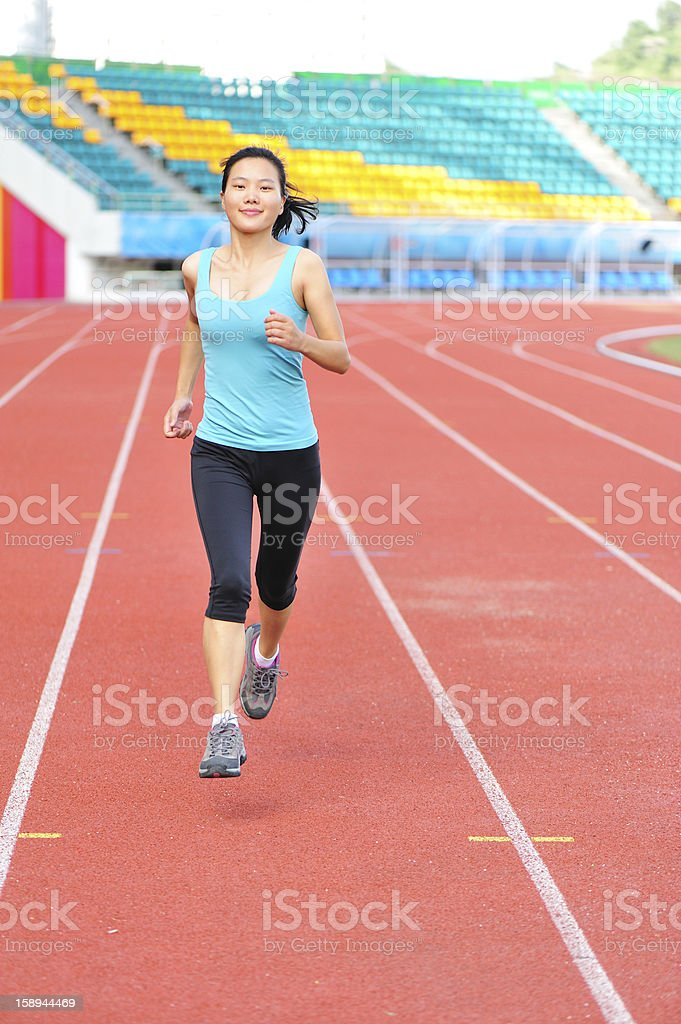 fit woman running royalty-free stock photo