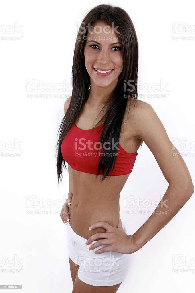 Fit young woman royalty-free stock photo