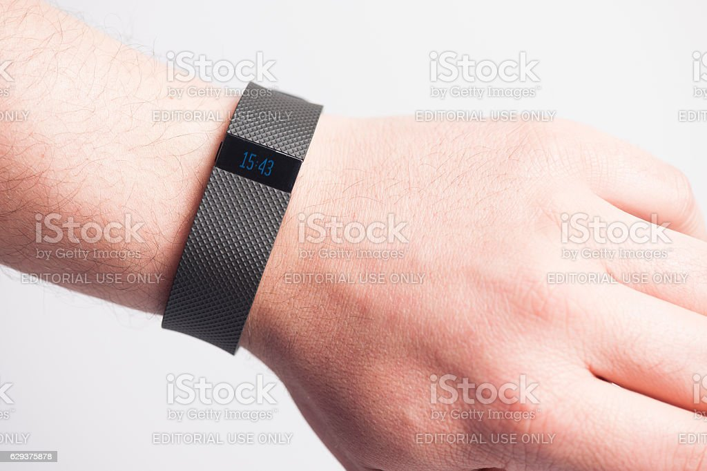 Fitbit Charge HR stock photo