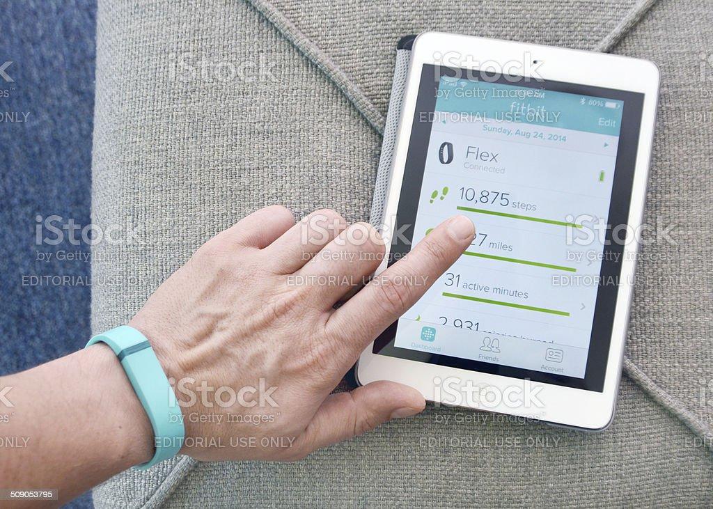 Fitbit Flex stock photo