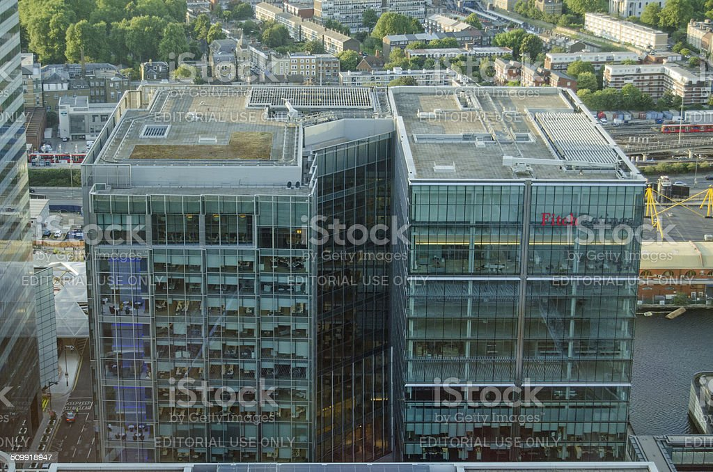 Fitch Ratings Offices, London stock photo