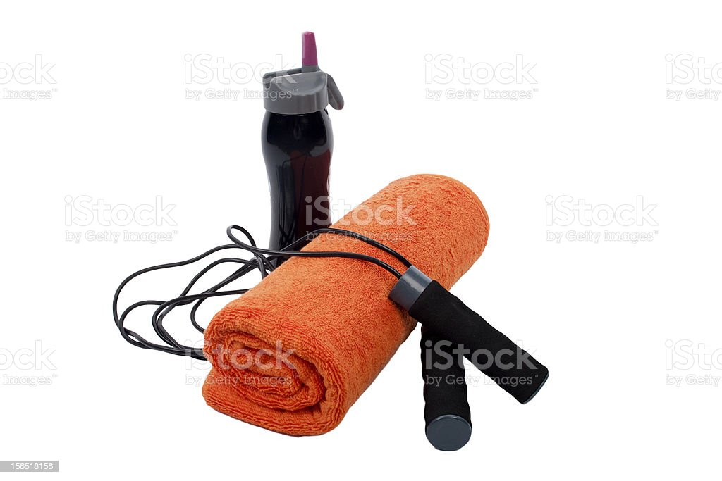 Fitness Accessories royalty-free stock photo