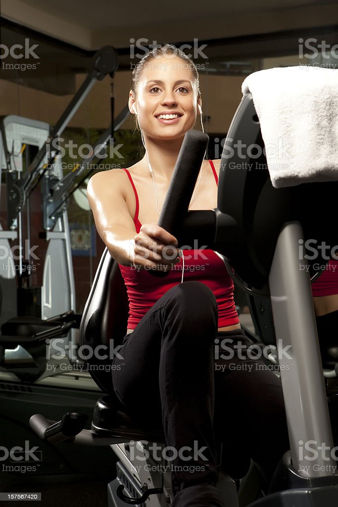 Fitness and Exercise royalty-free stock photo