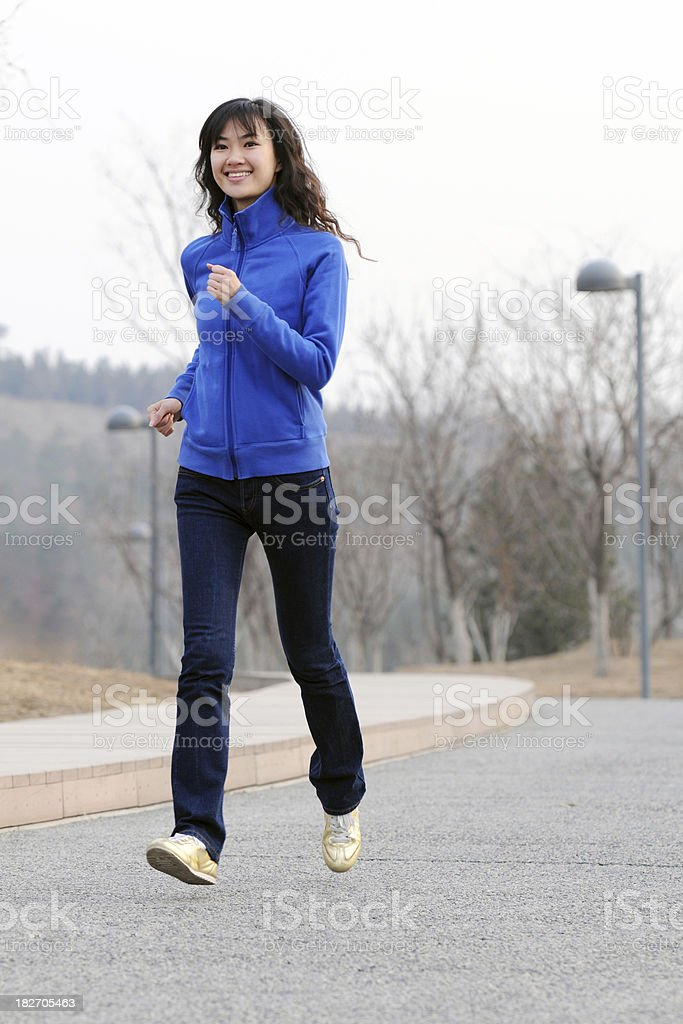 Fitness and Exercise - XLarge royalty-free stock photo