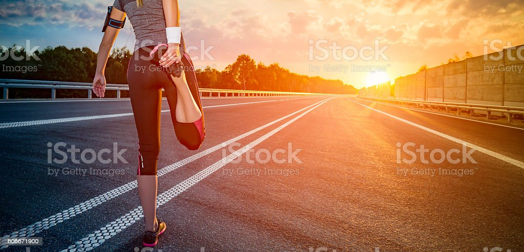 Fitness and workout wellness concept. stock photo
