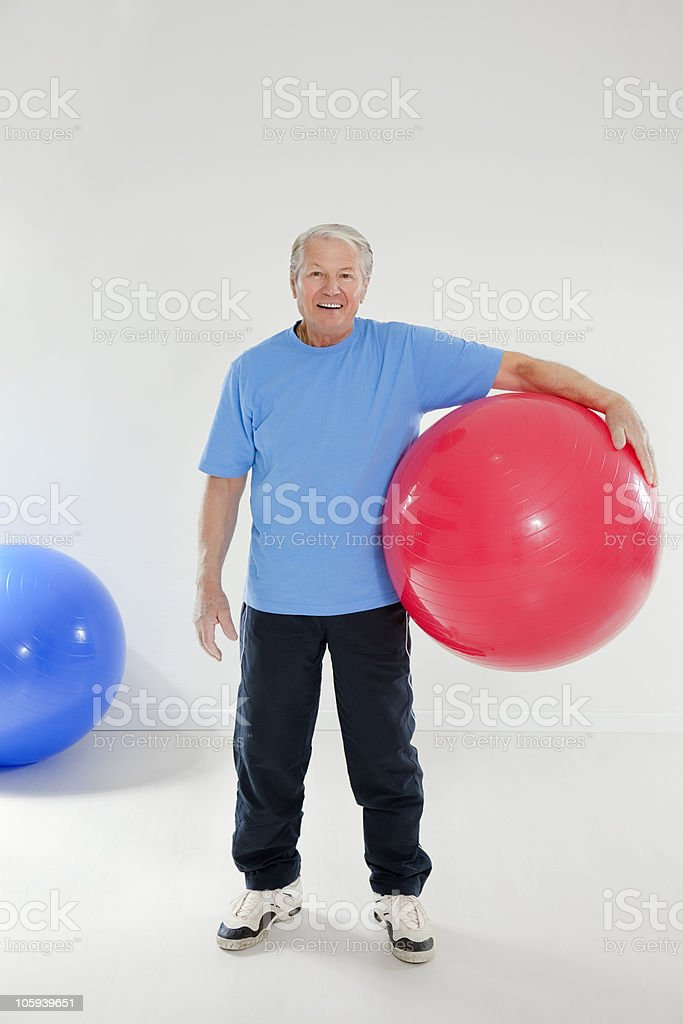 fitness and yoga royalty-free stock photo