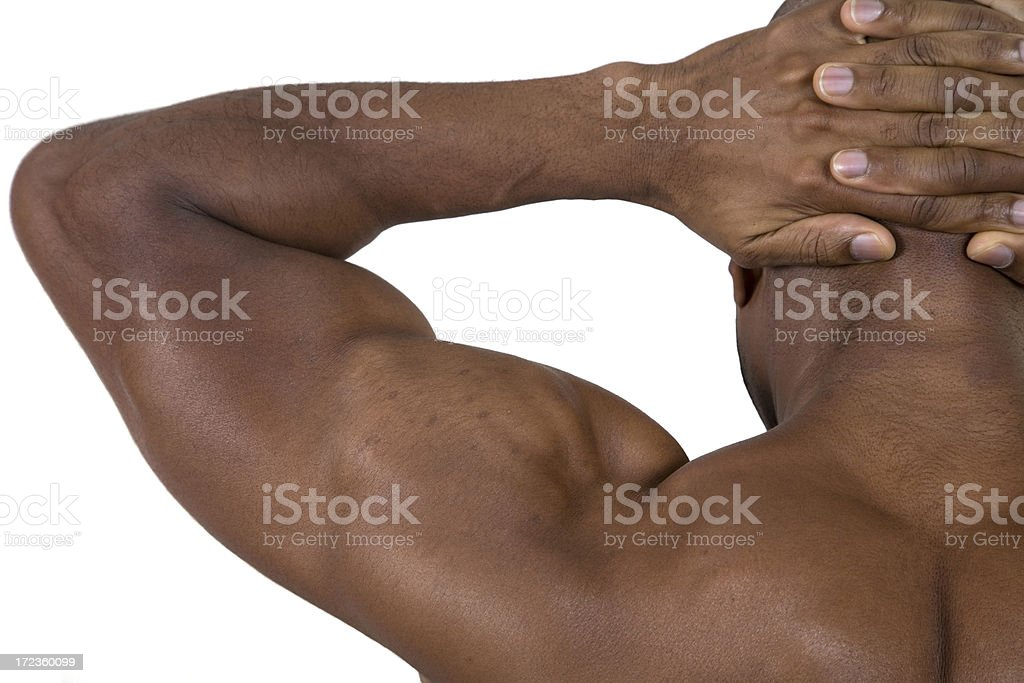 Fitness, Arms Up stock photo