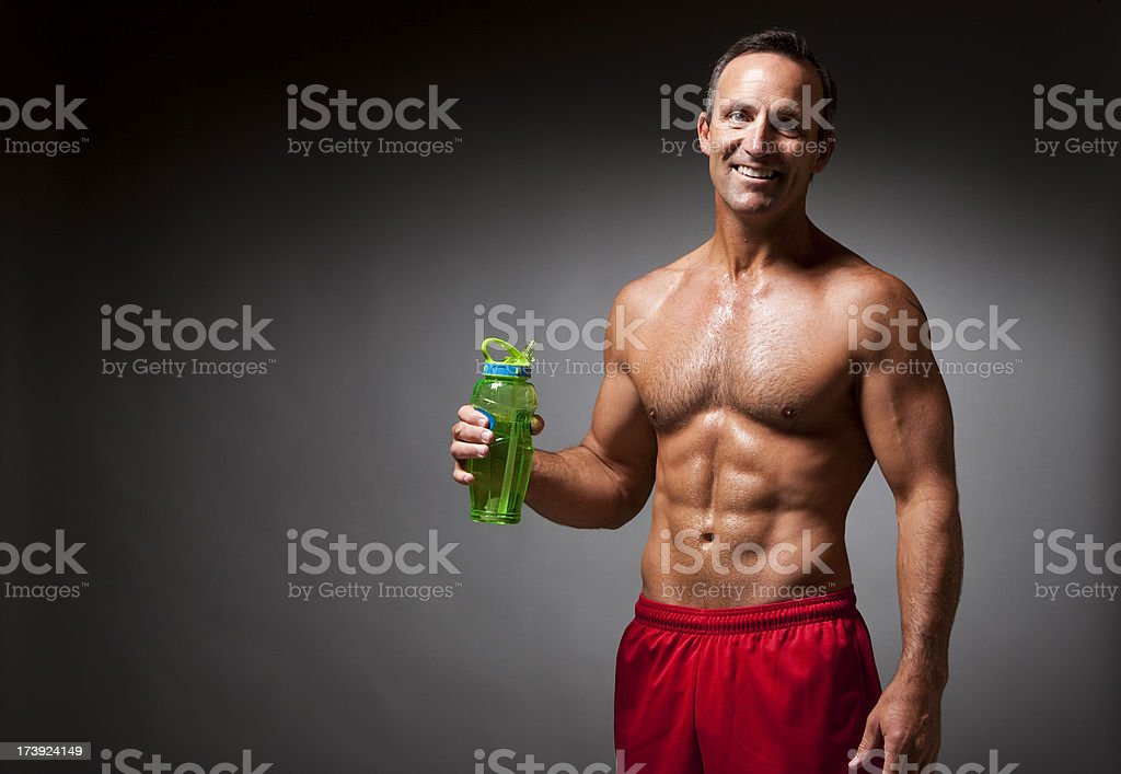Fitness: Athlete Portrait royalty-free stock photo