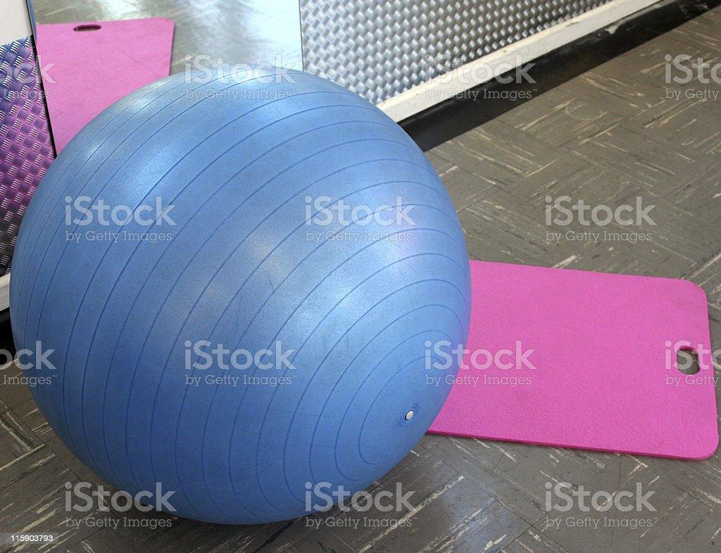 Fitness Ball stock photo