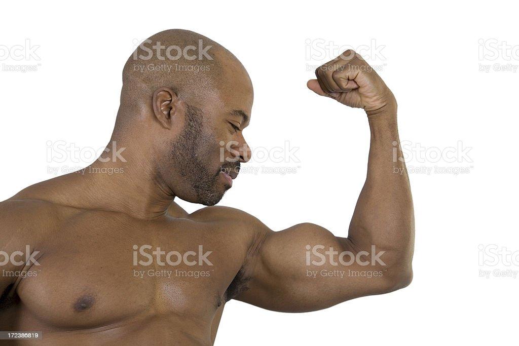 Fitness, Biceps stock photo