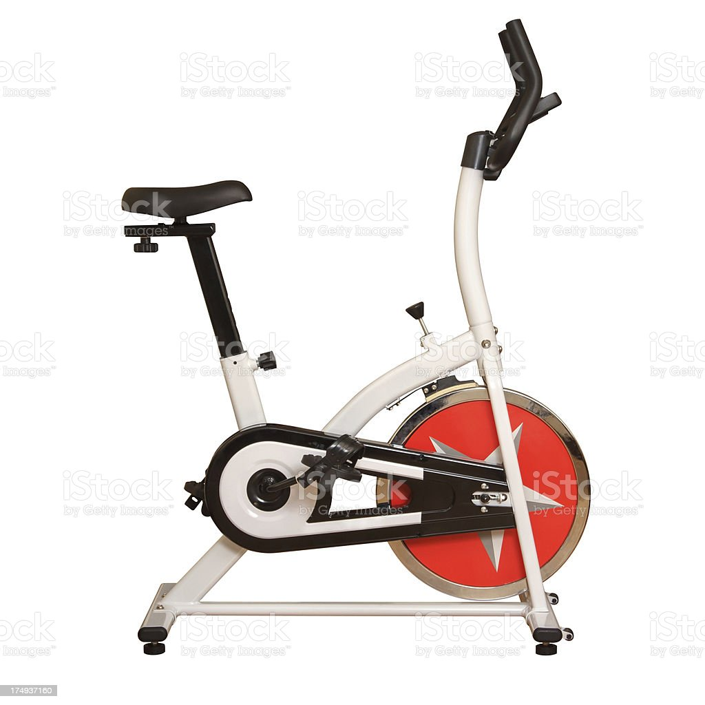 Fitness Bike stock photo