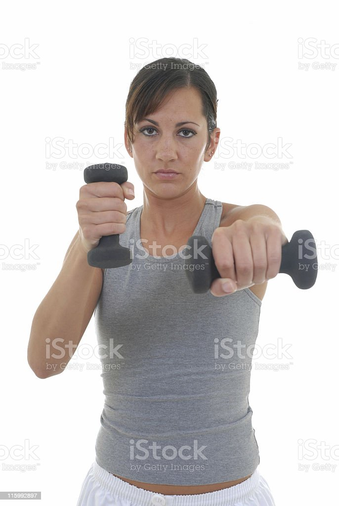Fitness boot camp royalty-free stock photo
