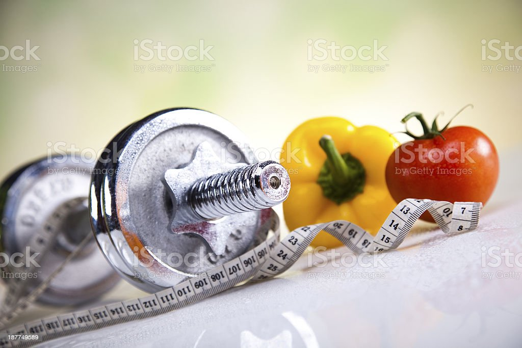 Fitness diet royalty-free stock photo