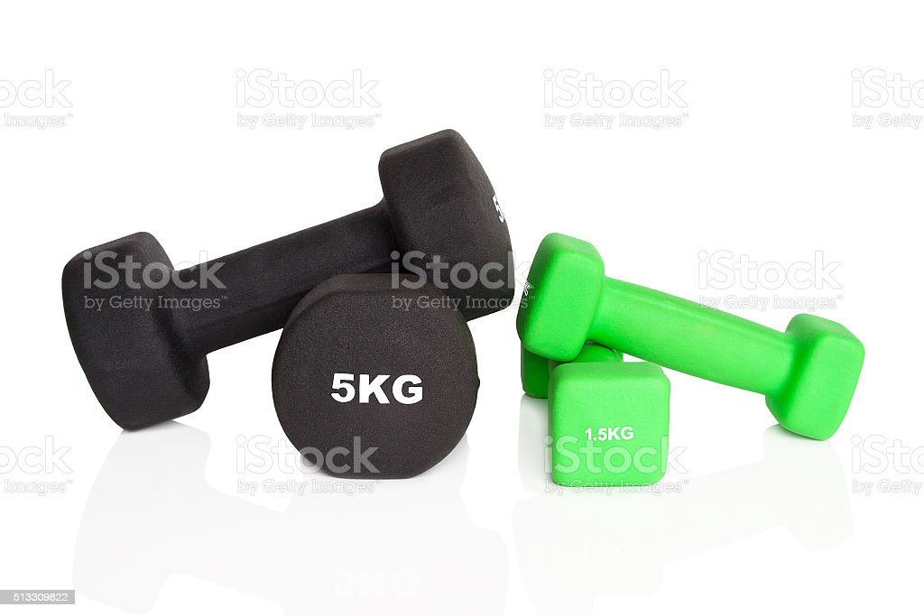 Fitness-Hanteln – Foto