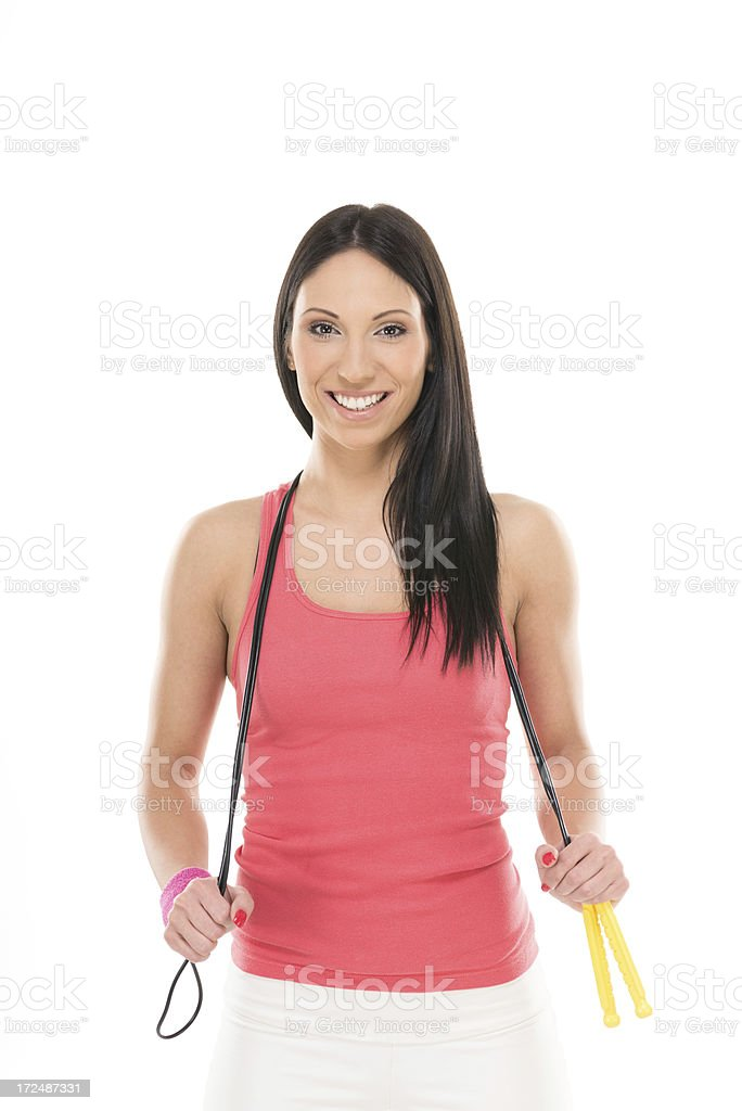Fitness equipment royalty-free stock photo