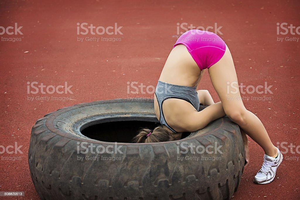 Fitness Fail stock photo