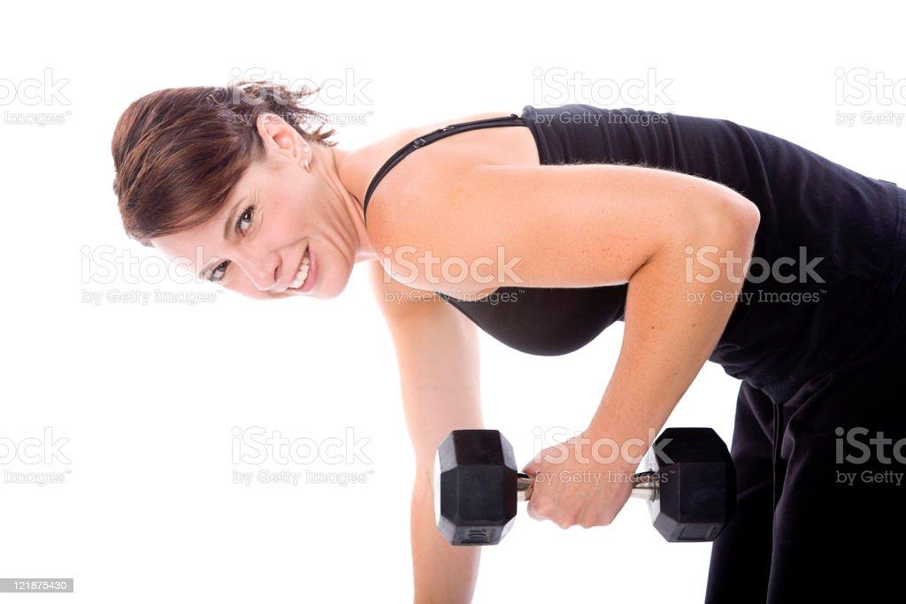 Fitness Female royalty-free stock photo